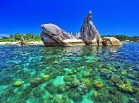 Pulau Burung mandi